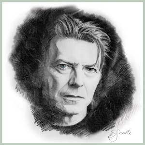 The late David Bowie.