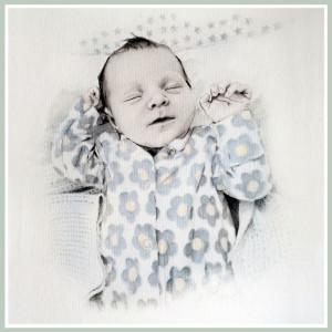 A unique christening commission x
