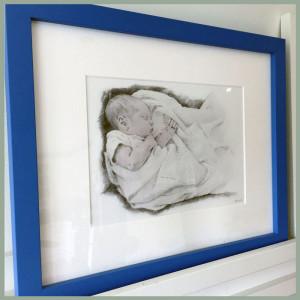 Love seeing my work framed in people's homes!