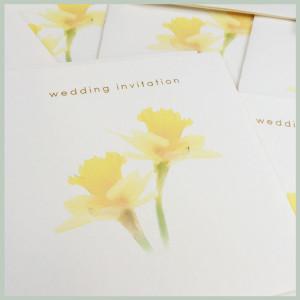 A spring wedding!